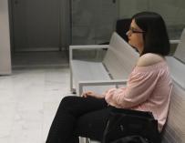 Cassandra Vera durante un momento del juicio