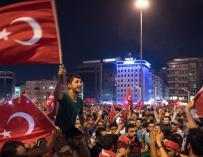 Fotografía golpe de Estado en Turquía