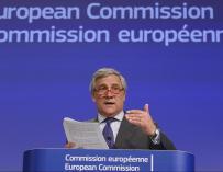 Aragón premia la labor del comisario europeo de Industria Tajani