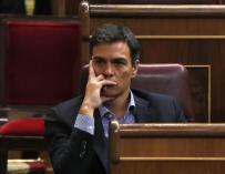Pedro Sánchez se olvida del 'no es no' y busca el centro ahora casi a la desesperada