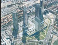 La Quinta Torre de la Castellana de Madrid supondrá una inversión de 300 millones