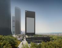 Viaje a las entrañas de Caleido, la torre que 'revolucionará' el centro financiero de Madrid
