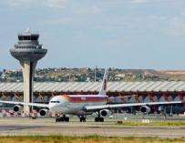Imagen del aeropuerto de Barajas.