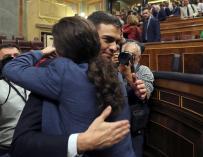 """Iglesias, a """"la disposición"""" de Pedro Sánchez"""