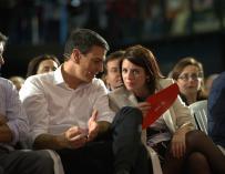 """Adriana Lastra (PSOE): """"En el fondo todo es muy sencillo: lo que digan nuestro militantes"""""""