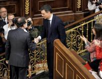 Sánchez y Rajoy