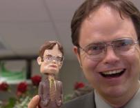 Dwight Schrute es el prototipo de compañero que saca de quicio a cualquiera.
