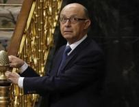 El ministro de Hacienda, Cristóbal Montoro. EFE/Ballesteros