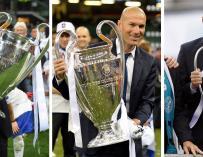 Zidane se marcha del Madrid tras liderar un equipo de leyenda