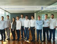 El equipo de Zeleros.