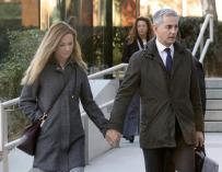 Ricardo Costa a su llegada a la Audiencia Nacional