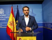 Màxim Huerta rueda de prensa dimisión