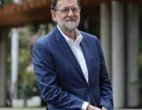 Mariano Rajoy, todavía presidente del PP.