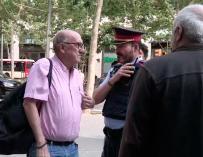 Jaume Roures, tras los registros de Mediapro. /EFE