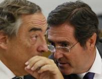 Juan Rosell y Antonio Garamendi, confidencias.