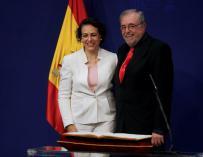 Magdalena Valerio y Octavio Granado