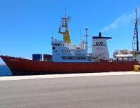 El 'Aquarius' parte de València rumbo a nuevas misiones de rescate