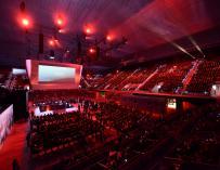 Convención de directivos del Santander.