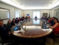 Primer consejo de ministros de Pedro Sánchez