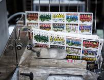 La imprenta de Panini en Módena, a pleno rendimiento / Panini