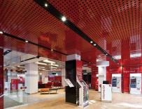 Oficina 'Smart red' del Santander
