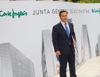 El presidente de El Corte Inglés, Dimas Gimeno.
