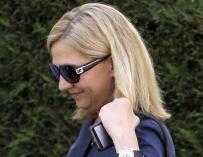 La Infanta Cristina: al banquillo sin título nobiliario y sin poder estar en Marivent