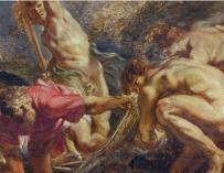 Boceto de Rubens / Museo del Prado