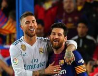 Fotografía Ramos y Messi Mundo Deportivo