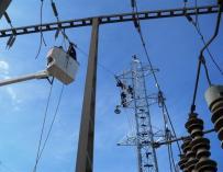Redes de transporte de electricidad.