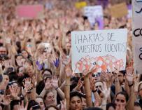 Manifestación Madrid libertad La Manada