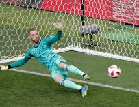 De Gea no paró los penaltis de Rusia