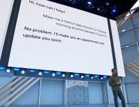 Presentación de Google Duplex. / Google