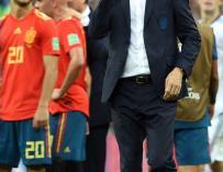 Fernando Hierro tras perder ante Rusia en los penaltis