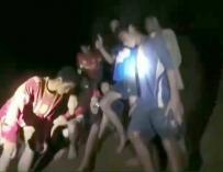 El rescate de los niños en Tailandia puede alargarse meses