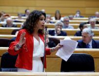Fotografía María Jesús Montero en el Senado