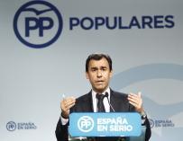 """Martínez-Maíllo destaca las """"10 acusaciones"""" de Besteiro y critica a los que """"se les llena la boca"""" de acusar al PP"""