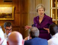 Fotografía de Theresa May, primera ministra británica, Reino Unido