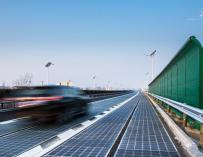 La autopista está abierta a la circulación convencional / Pavenergy