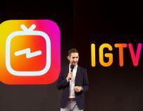 La nueva plataforma de Instagram, IGTV, compite con Youtube.