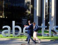 Imagen de la sede de Abertis en Madrid.