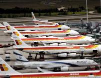 Desconvocados los seis días de huelga de los empleados de Iberia en El Prat