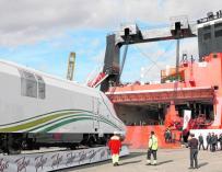 Tren AVE de Talgo para la nueva línea Medina-la Meca.