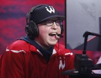 "Austin ""Boo"" Painter durante un partido / Wizards District Gaming"