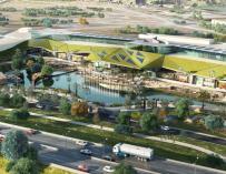 Centro comercial de Palmas Altas