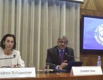 Andrea Schaetscher, responsable de la misión del FMI en España