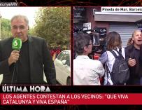 Ferreras en el corazón de la noticia.