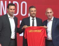 Luis Enrique presentado como nuevo entrenador de 'La Roja'