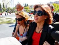 """Juana Rivas llega al Juzgado para """"decir la verdad"""" y """"pedir ayuda"""" a la jueza"""
