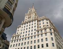 Sede de Telefónica en la madrileña Gran Vía.